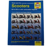 Haynes 4082 scooters twist and go automatic transmission 50 til 250 cc with carburettor engines Haynes service and repair manual