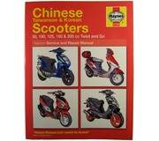 Haynes 4768 chinese taiwanese & korean scooters 50, 100, 125, 150 & 200 cc twist and go
